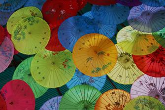 Kopfgrafik Schirme